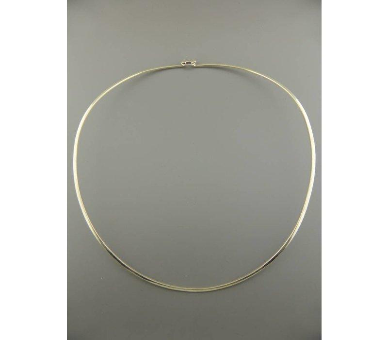 Spang, model VOORGEVORMD, zilver, Eigen Collectie