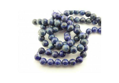 Lapiz Lazuli rond 14 mm streng 40 cm