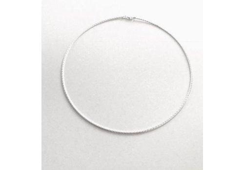 Eigen Collectie Spang, model MEDIUM van zilver, tweezijdig, Eigen Collectie