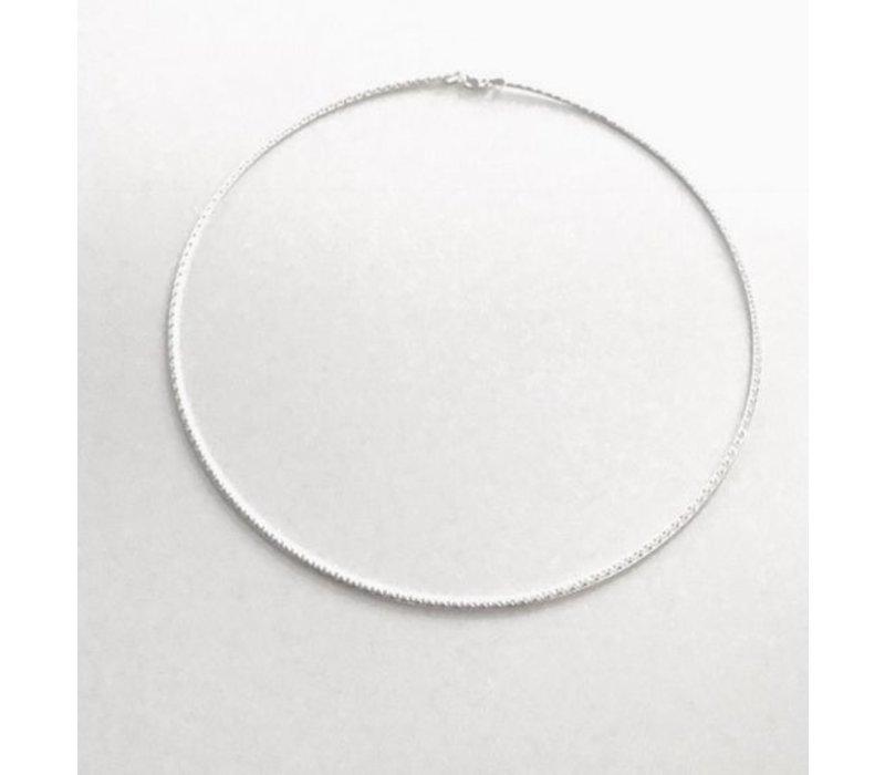 Spang, model MEDIUM  van zilver, tweezijdig, Eigen Collectie