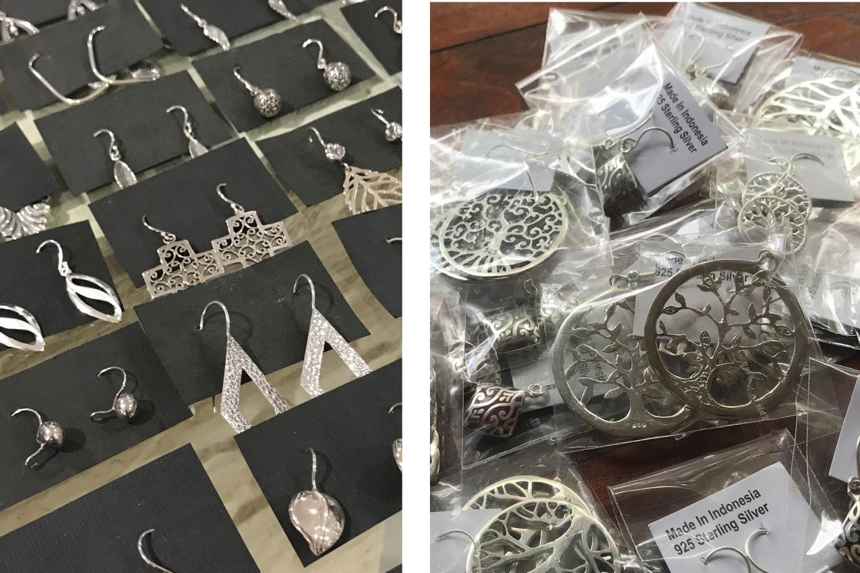 zilveren sieraden uit Bali