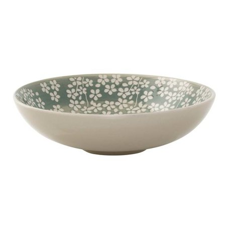 Flowers bowl Seeke green