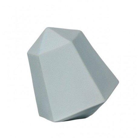 Decoratie diamant ijsblauw