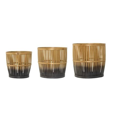 Dipped bamboo basket - Small