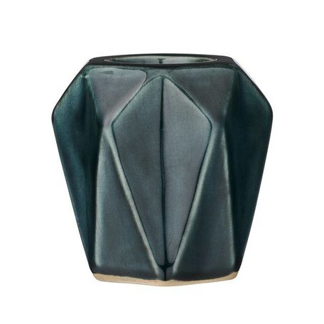 Dark green tealight holder diamond 27120011