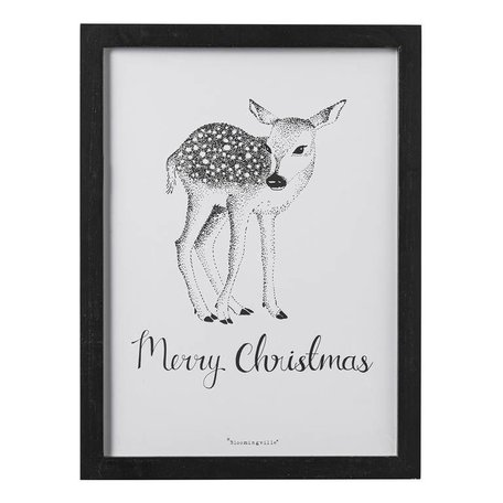 Frame Deer Merry Christmas