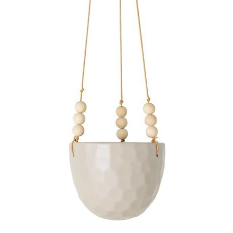 Ceramic plant hanger sand