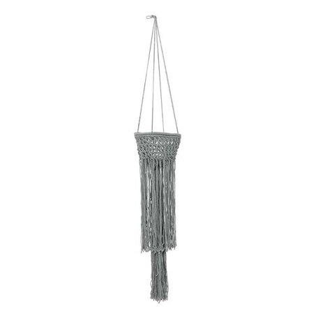 Plantenhanger grijs L 120 cm