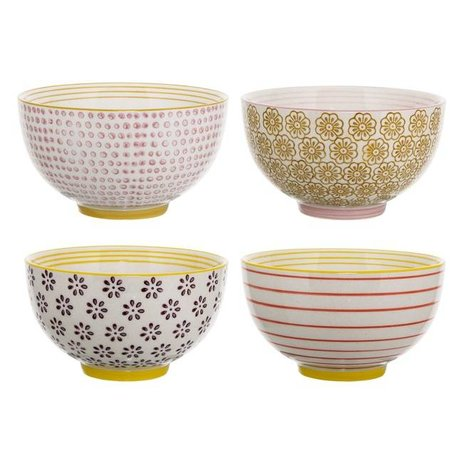 Set of 4 dishes Susie