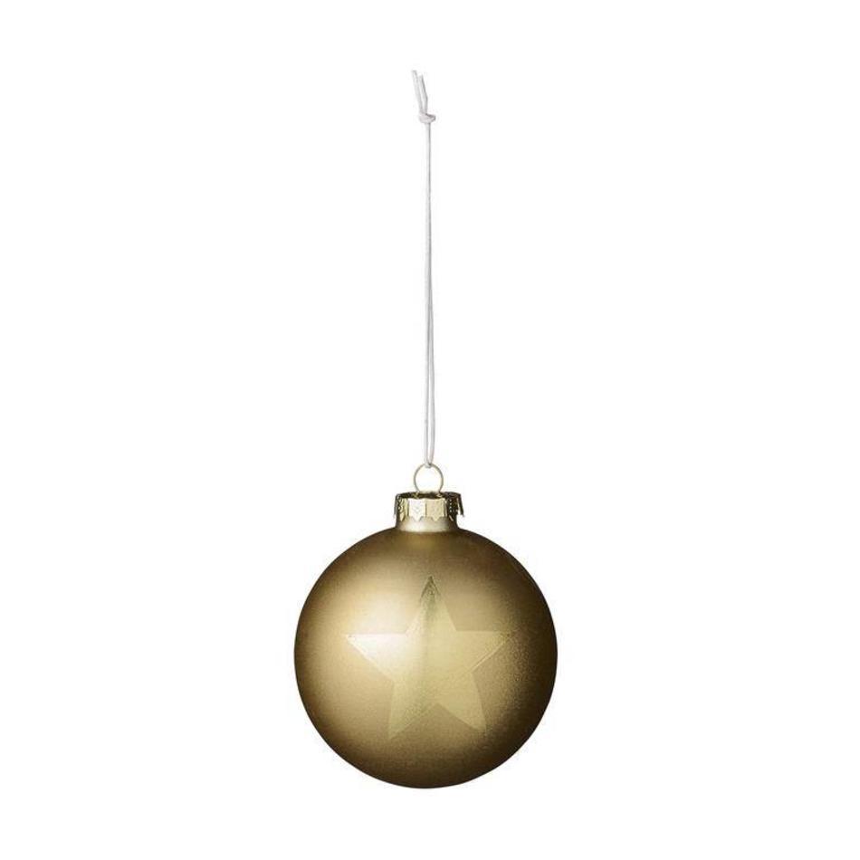 Gouden Kerstballen Kopen Bloomingville Livv Lifestyle