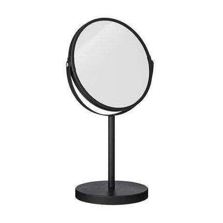 Make up spiegel op voet - zwart