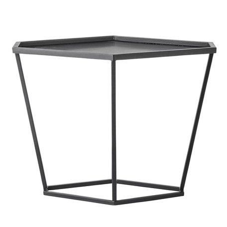 Side table diamond - black
