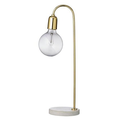 Table lamp gold / marble