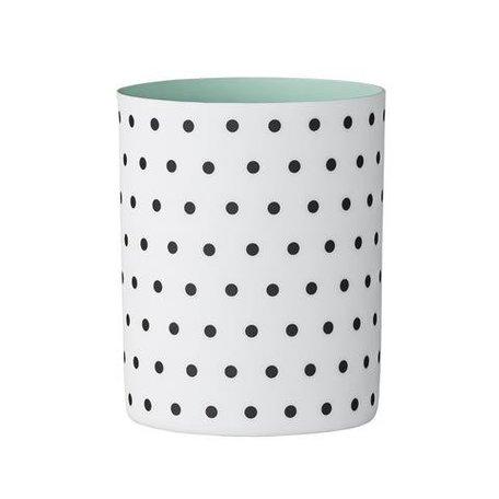 Tealight holder dots