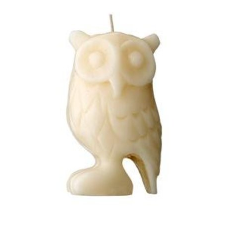 Vanilla scented candle owl