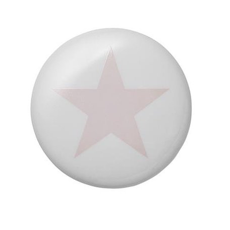 Wandhaak roze ster