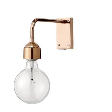 Wall lamp copper