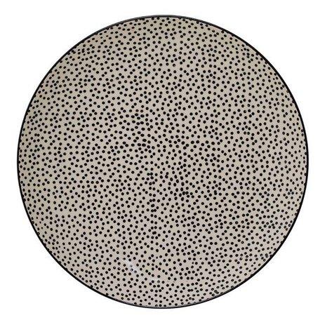 Dinner plate Julie dots