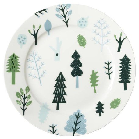 Dinner Plate - Forest