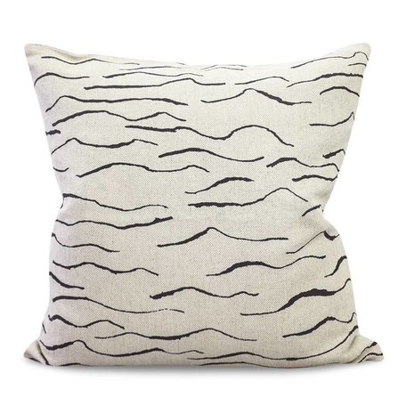 Cushion cover Wave - black