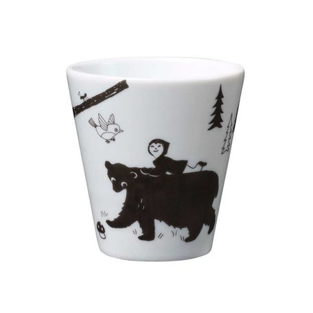 House of Rym - Cup Friendly Forest Folks - Black