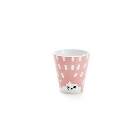 House of Rym - Cup Oh what a friendly face - Pink