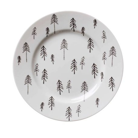 House of Rym - Plate Fir Fir - Black
