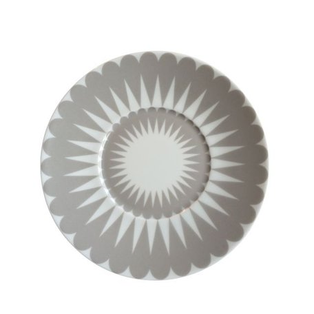 Dish Pretty petal - Grey