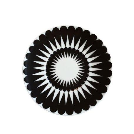 Saucer Pretty petal - Black