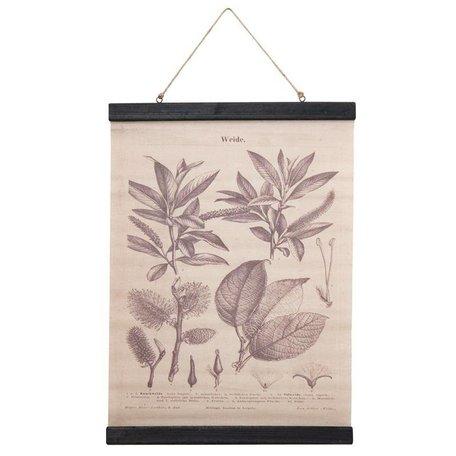 Botanic - Wilg wallet - grey