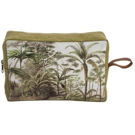 Toiletry bag - palm