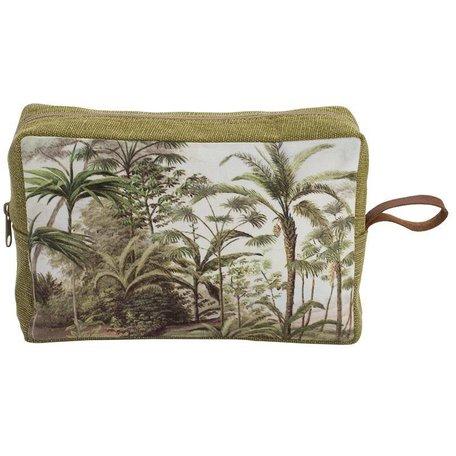 Toiletry bag - palm