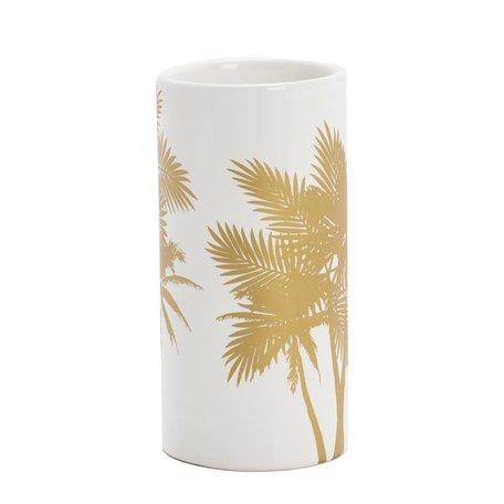 Vaasje Palm - goud
