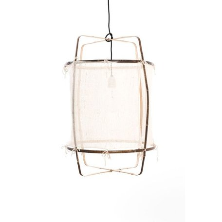 Hanging lamp - Z1 - white - silk cover