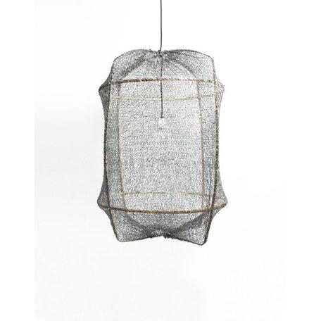 Ay illuminate - lamp - Z1 - black frame - grey sisal net