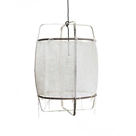 Lamp Z11 - wit -  zijden kasjmier cover