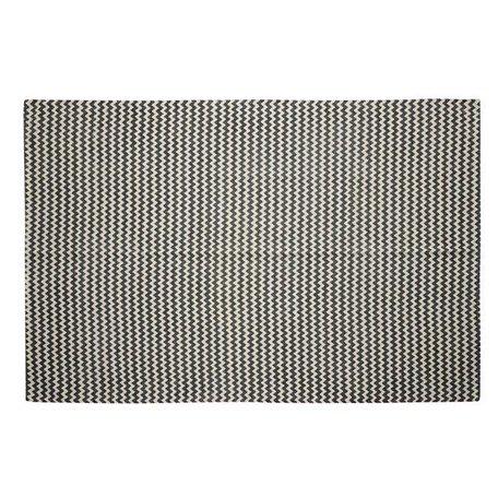 Vloerkleed zigzag - Grijs