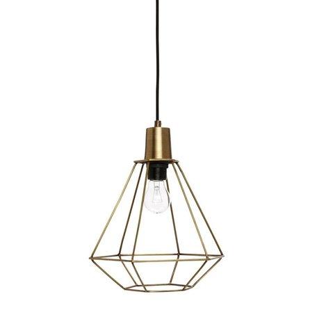 Hanglamp Diamant - Messing