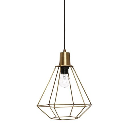 Pendant lamp Diamond - Brass