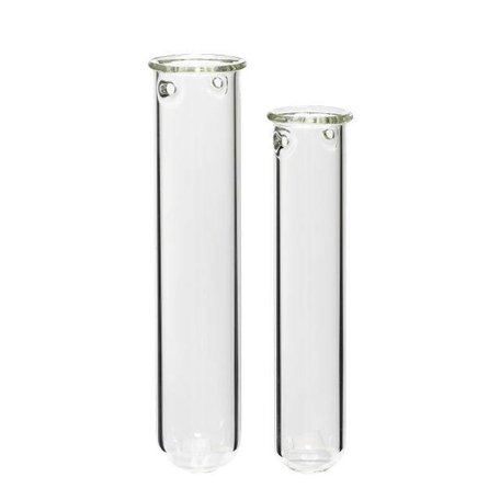 Set of two - Glass tubes for flowers