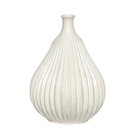Porcelain vase Imperfect - White