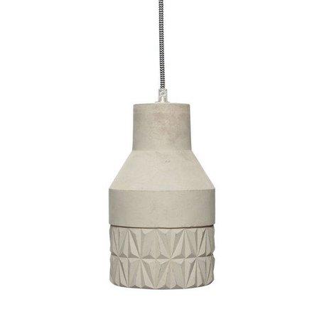 Beton hanglamp - Grijs