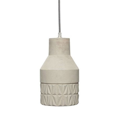Concrete pendant - Grey