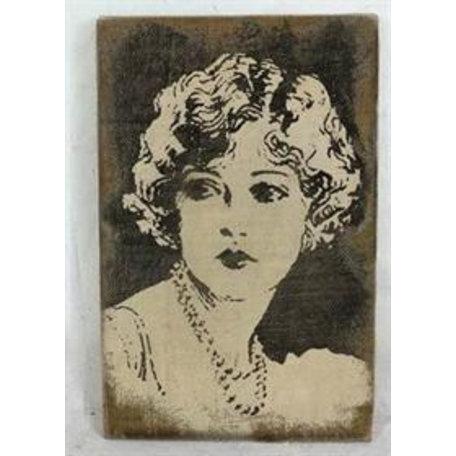 Canvas schilderij Lady