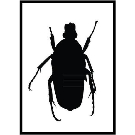 Poster zwart tor