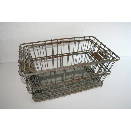 Industrial iron basket L