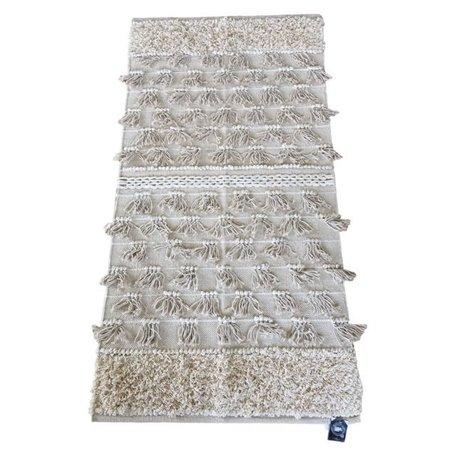 Bohemian rug fringes