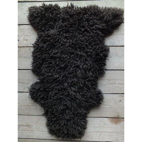 Sheepskin dark brown