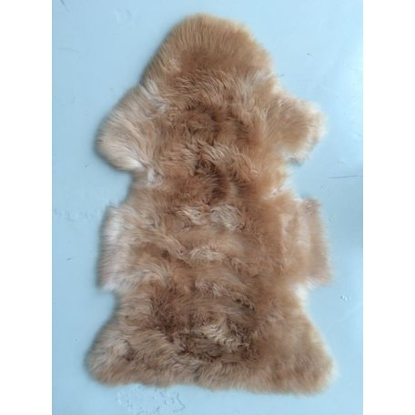 Sheepskin copper brown Medium