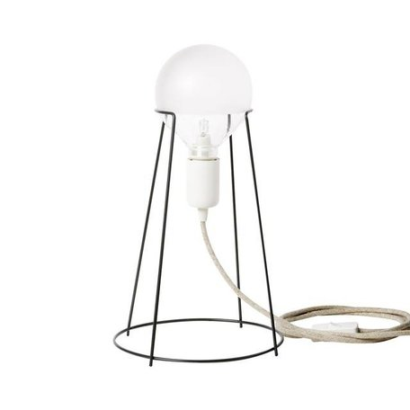 Tafellamp Agraffe grijs